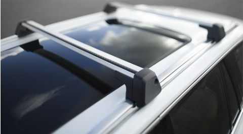 XC90 Load carrier, wing profile for rails